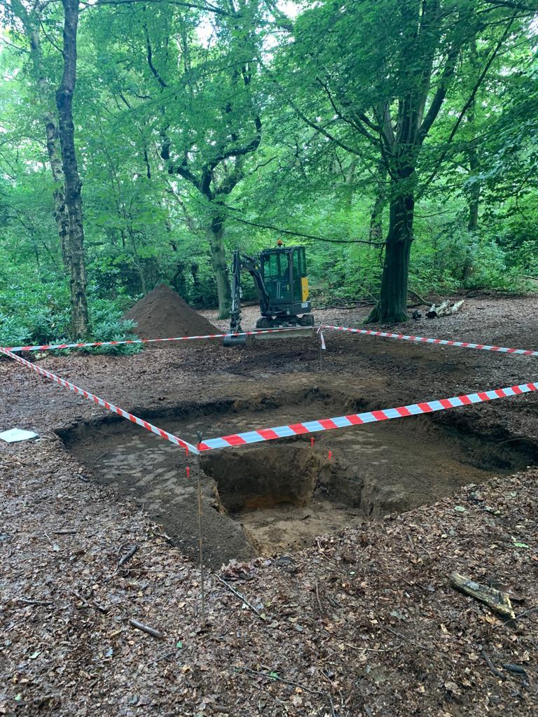 Traces Heaton Park Landscape Construction Set Dressing Manchester